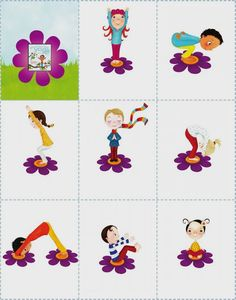 Printable Yoga For Kids #Kidsyoga