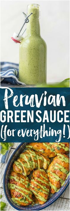 Peruvian Green Sauce (for everything!)