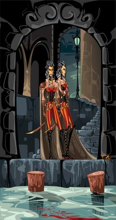 The Berangias Sisters by dejan-delic on DeviantArt #liesoflockelamora
