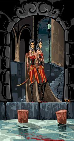 The Berangias Sisters by dejan-delic on DeviantArt #liesoflockelamora