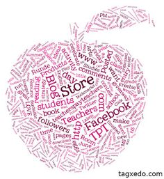 Tagxedo... site allows you to make shaped graphics like this one.