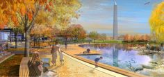 National Mall Design Competition - Constitution Gardens - Andropogon & Bohlin Cywinski Jackson