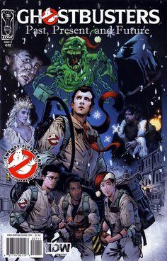 Ghostbusters Past Present Future IDW) comic books Comic Book Covers, Comic Books, Walt Disney, The Real Ghostbusters, Ghostbusters 1984, Ghost Busters, Past Present Future, Fantasy Movies, Marvel