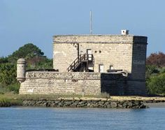 Deriving its name from the French Massacre of 1565 that spilled blood into the Matanzas river, this fort is haunted to this day!