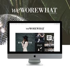 We just love launching websites AND working with the amazing Danielle from, weworewhat.com. Danielle is a favorite lady fashion blogger, providing a daily dose of outfit inspiration from every corner of NYC. (Which of course we drool over constantly!!) In this full fledged online TKO,