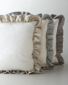 """Glynn"" Linen Pillow at Neiman Marcus."