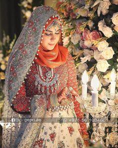 Muslimah Wedding Dress, Disney Wedding Dresses, Hijab Bride, Muslim Brides, Bride Groom Dress, Pakistani Wedding Dresses, Pakistani Bridal, Bridal Dresses, Walima Dress