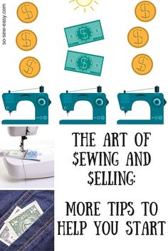 Sewing and Selling Selling is as much an art as sewing is –and if you are willing to be creative and serious in both, then it may be time to showcase your work and earn some money too by practicing the art of sewing and selling. You can start stitching your way to success like others did. And one of the most amazing success stories in sewing is the Levi's Jeans story when Levi Strauss and Jacob Davis, patented a unique way of making pants by using rivets at points of strain to make them…