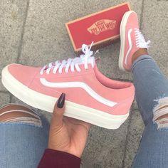 vans retro pink