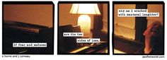softerworld:  A Softer World: 1170 (giggle not into the abyss) buy this print • support our patreon