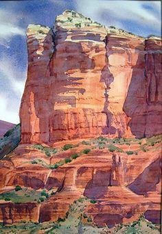 Linda Sherman   WATERCOLOR #watercolorarts