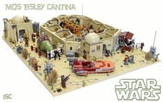 Mos Eisley Cantina | Been keen to build and share my own tak… | Flickr