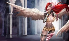 Tumblr   //    Webpage  //   Facebook I really wanted to make a splash katarina art, and I happened to make a skin-themed Valkyrie. Th...