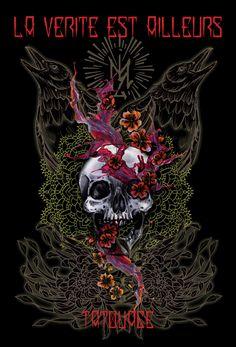 Tatoueuse spécialisée en dessins personnalisés . Tattoos noir et blanc ,couleur,neo trad ,neotraditionnel ,dot work ,skull ,,la vérité est ailleurs bordeaux ,salon de tatouage à bordeaux centre ,tatouage bordeaux ,bordeaux tattoo,tattoo ,tatouage