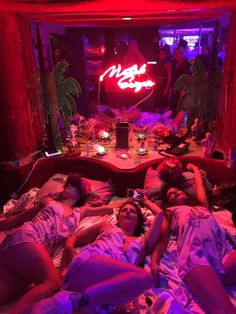 5 Female Artists collaborated to make their Plexi-neon utopia.