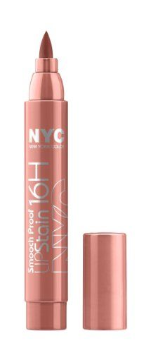 New York Color Smooch Proof Lip Stain, Never Ending Nude, 0.1 Fluid Ounce