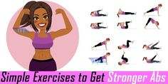 Get Stronger Abs With 8 Different Exercises