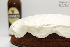 Tarta Guinness Guinness, Flan, Camembert Cheese, Cacao, Pudding, Pie, Desserts, Diners, Pound Cake