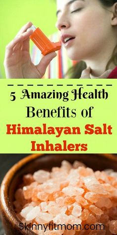 5 Amazing Health Benefits Of Using A Himalayan Salt Inhaler! Using salt inhalers daily is one of the BEST ways to support lung and sinus health. It helps soothe coughs, allergies, asthma, and sore throats. Health And Wellness, Health Fitness, Women's Fitness, Salt Inhaler, Himalayan Salt Benefits, Juice Cleanse Recipes, Heath Care, Herbal Remedies, How To Stay Healthy