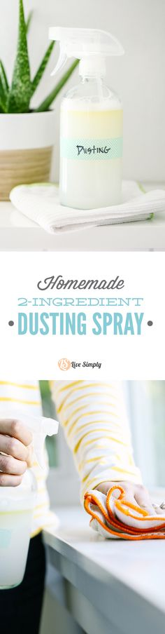 Love this dusting spray! No vinegar scent and super easy to make. This picks up the dust and makes my house smell AMAZING!
