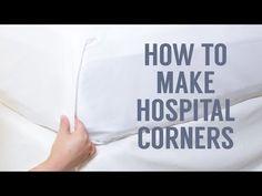 Mobile How to Make Hospital Corners | Crane & Canopy