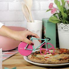 El cortador de pizza de los ciclistas