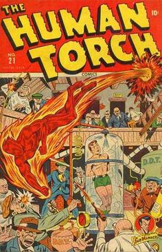 Hey, how come Toro never has to rescue the Torch?