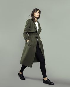 Londres, trench coat & jacket - sewing pattern for women | Orageuse