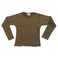 So Nikki - Girls Long Sleeve Basic T-Shirt