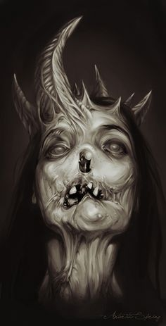 Succubus by Antarctic Spring, via Behance