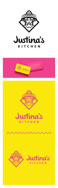 Justina's Kitchen - Branding for Mexican Restaurant #identity #logo #design