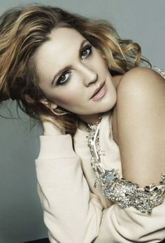 Drew Barrymore by Jan Welters for US Marie Claire February 2014