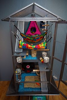 Cool mouse cage - photo#8