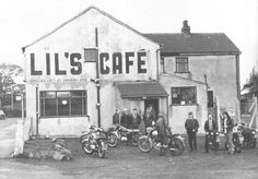 Famous bikers cafe from the 60's in Standish