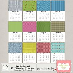 2/2. This is the second of the TWO different sets of DIY 4x6 Monthly Calendar Templates for 2017. Perfect assignment for you during the holidays and it's absolutely FREE! ❤ Temporary link in bio. Designed by @papermadebying . . . . . #ppsuae #prettypaperstudio #ppsuaedigitals #freebiefriday #freebie #printable #download #photoshop #calendar #newyear #2017 #doityourself #photoshop