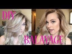 How to Create the Perfect Balayage By Using Ponytails - Modern Diy Ombre Hair, Hair Color Balayage, Blonde Balayage, Diy Hair Highlights, Hair Colour, Blonde Hair, Hair Color Techniques, Hair Magazine, Hair Painting