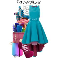 """Caterpillar - Disney's Alice in Wonderland"" by rubytyra on Polyvore"