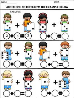 Autism Learning, Kindergarten Learning, Preschool Math, Kids Learning, 2nd Grade Math Worksheets, Fun Math Activities, Math For Kids, Math Lessons, Kids Learning Activities