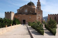 Monastery in Simat. Valencia. (Related to The Borgia Pope Alexander VI)