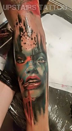 #tattoo #color #portrait by Mihai Bizduianu