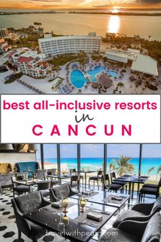 Get inspiration for your next vacation or your honeymoon, and discover the best all-inclusive resorts in Cancun and the Riviera Maya, including family-friendly options and adults-only resorts. Mexico Vacation, Mexico Travel, Mexico Honeymoon, Cancun Vacation, Greece Vacation, Vacation Spots, Brunch Outfit, Best All Inclusive Resorts, Hotels And Resorts