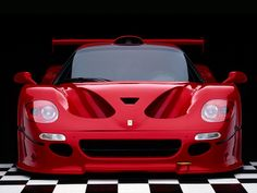 An extremely rare Ferrari. A Ferrari F50 GT. 1 of only 4 made. 1 of only 2 in existence.