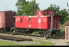 "Chicago Indianapolis & Louisville caboose ""The Monon"""