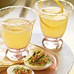 Champagne Limoncello Cocktails Recipe | MyRecipes.com