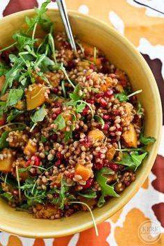 Fall wheatberry sala