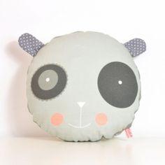"""happy #panda"" #cushion for #kids #room"