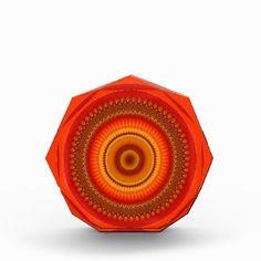 Mandala - Orange and yellow swirls Award