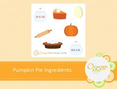 Printable Stickers, Planner Stickers, Pumpkin Pie Ingredients, Printables, Messages, Make It Yourself, Baking, Fall, Party