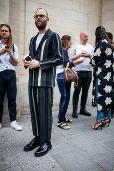 【海外スナップ】華の都パリもストリート旋風! 2017年春夏パリ・メンズ・ファッション・ウイーク ストリート・スナップ 37 / 208