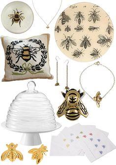 Too dang adorable. Bee Love | Design*Sponge